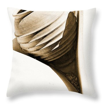 Greek Urn Throw Pillow