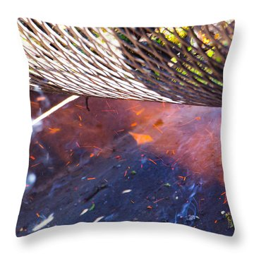 Green Chile Roast Throw Pillow