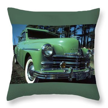 American Limousine 1957 Throw Pillow