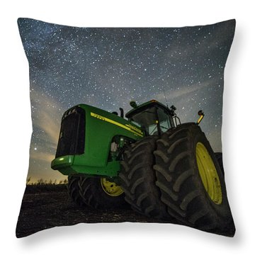 Throw Pillow featuring the photograph Green Machine  by Aaron J Groen