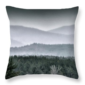 Throw Pillow featuring the photograph Green Mountain National Forest - Vermont by Brendan Reals