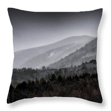 Throw Pillow featuring the photograph Green Mountains - Vermont by Brendan Reals