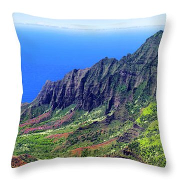 Green Ridge Throw Pillow