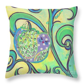 Greenbriar Birdy Throw Pillow
