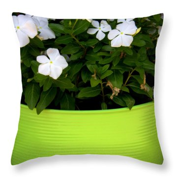 Greener Thumb Throw Pillow