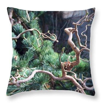 Greenhouse Specimen No. 1 Throw Pillow