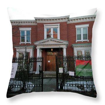 Greenpoint Reformed Church Throw Pillow