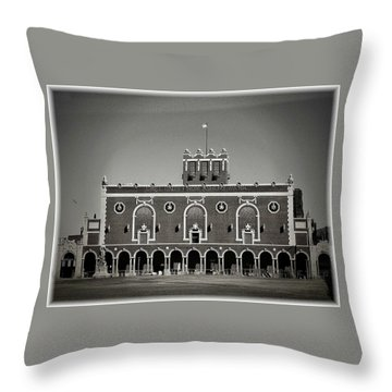 Greetings From Asbury Park Throw Pillow