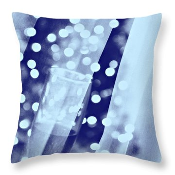 Greetings Throw Pillow by Rima Biswas