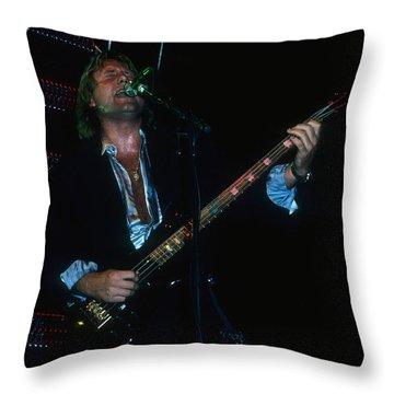 Greg Lake Of Elp Throw Pillow