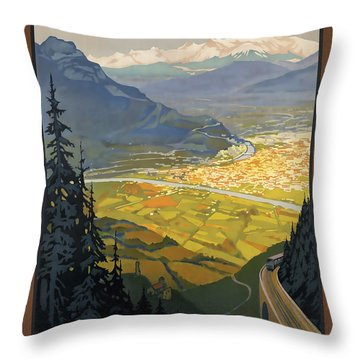 Grenoble Throw Pillow