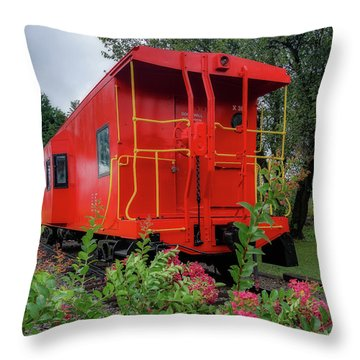 Gretna Railroad Park Throw Pillow
