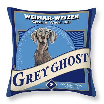 Grey Ghost Weimar-weizen Wheat Ale Throw Pillow