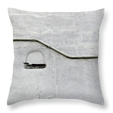 Grey Matter Throw Pillow