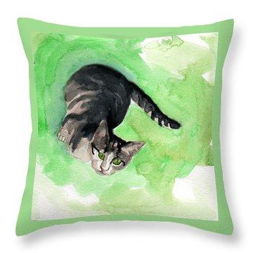 Mr Grey Throw Pillow