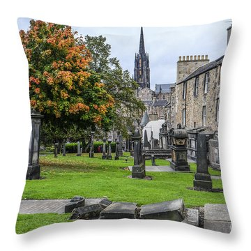 Greyfriars Kirkyard 1562  Throw Pillow