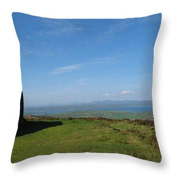 Grianan Of Aileach Throw Pillow