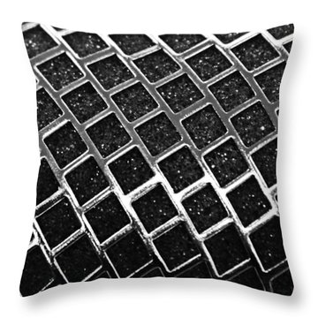 Throw Pillow featuring the photograph Grid by Kristin Elmquist