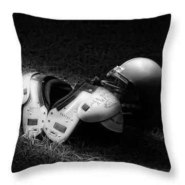 Gridiron Gear Throw Pillow