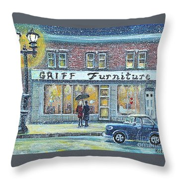 Griff Furniture Throw Pillow