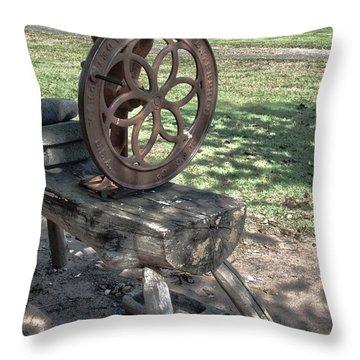 Grinder Throw Pillow