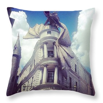Gringotts  Throw Pillow
