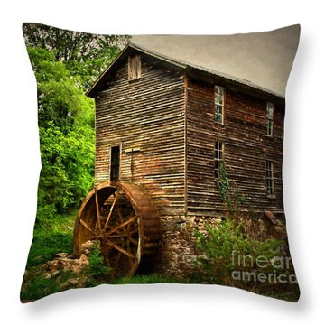 Gristmill  Throw Pillow