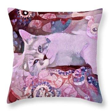Grizabella Throw Pillow
