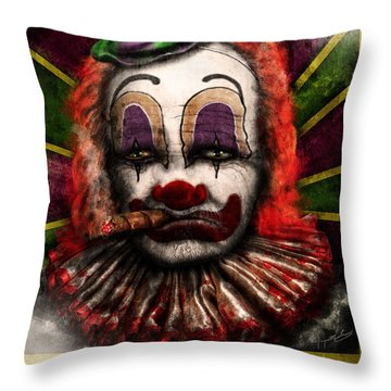 Grizzel Throw Pillow by Jeremy Martinson