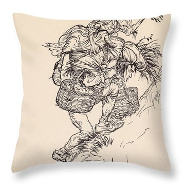 Groaning Continually, He Climbed The Throw Pillow