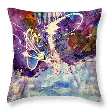 Groovin' Together Throw Pillow