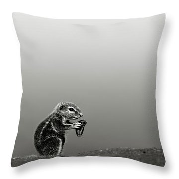 Ground Squirrel Throw Pillow