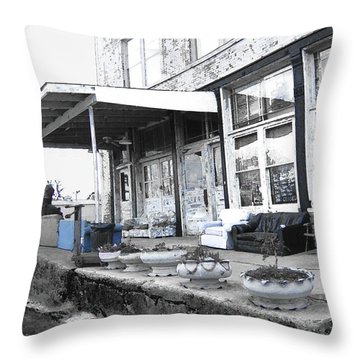 Ground Zero Throw Pillow by Lizi Beard-Ward