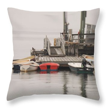 Group Meeting Throw Pillow by Jewels Blake Hamrick