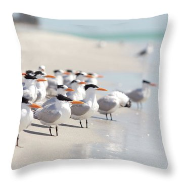 Sanibel Island Throw Pillows