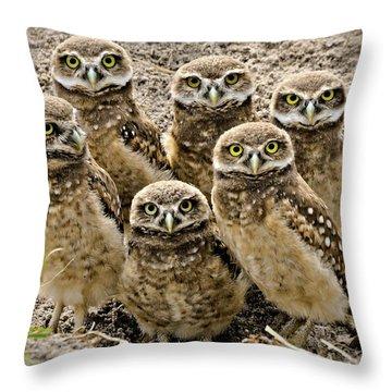 Group Shot Throw Pillow
