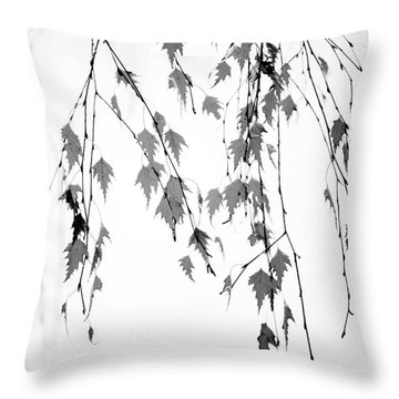Throw Pillow featuring the photograph Groupings by Rebecca Cozart