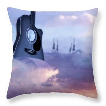 Growing A Country Song Throw Pillow by Cathy  Beharriell
