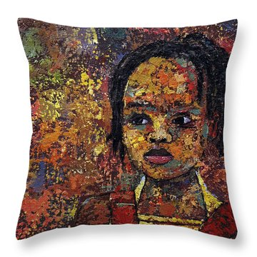 Growing Dreads 2 Throw Pillow