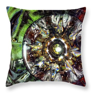 Growing Passion Throw Pillow by Donna Blackhall