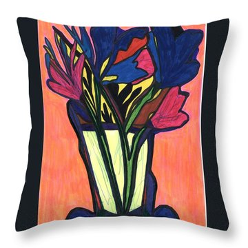 Growing Wild,  Throw Pillow