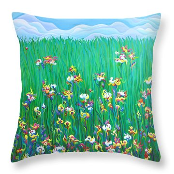 Grown To Distraction Throw Pillow