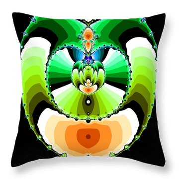 Grufflixie Throw Pillow
