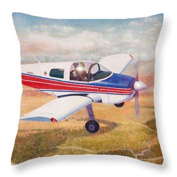 Grumman 1aa-1b  Throw Pillow