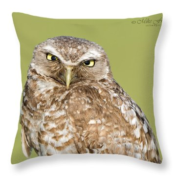Grumpy Dad Throw Pillow