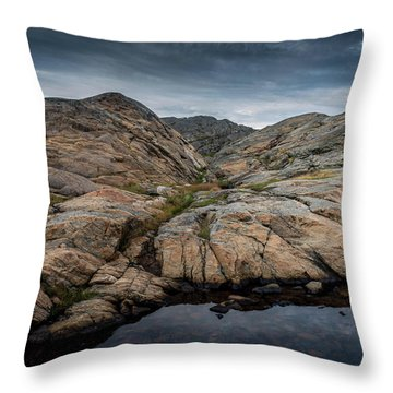 Grundsund, Sweden Throw Pillow