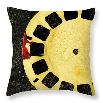 Vintage Film Strip Throw Pillows   Fine Art America