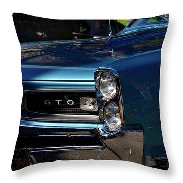 Gto Detail Throw Pillow by Dean Ferreira