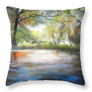 Guadalupe Glow Throw Pillow
