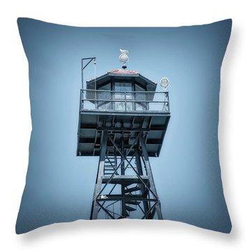 Guard Gulls Throw Pillow